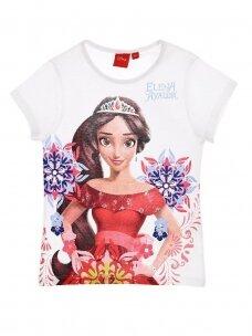 Balti marškinėliai mergaitei ELENA 1092D215