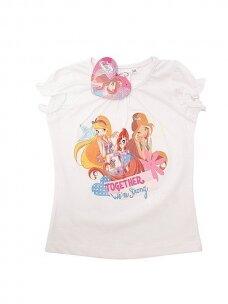 Balti marškinėliai WINX CLUB 0362D060