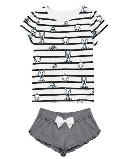 Balta pilka pižama Looney Tunes 1252D079