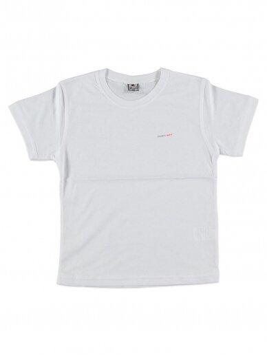 Baltai marškinėliai Modern Sport 0173D037