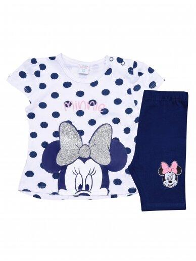 Baltas mėlynas kostiumėlis Minnie Mouse 0216D043
