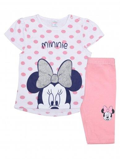 Baltas rožinis kostiumėlis Minnie Mouse 0215D043