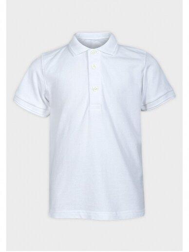 Balti Polo marškinėliai trumpomis rankovėmis 0520D98