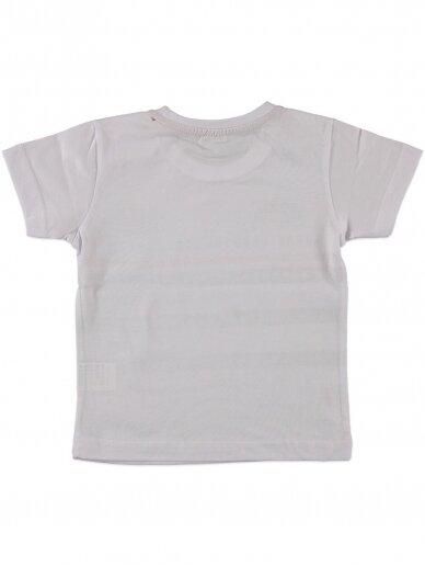 Baltos spalvos marškinėliai 0049D12 2