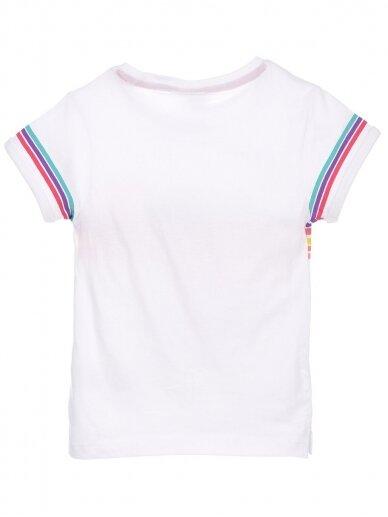 Baltos spalvos marškinėliai MINNIE MOUSE 0409D066 2