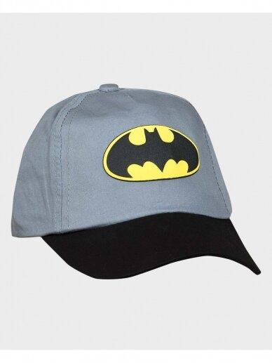 Batman pilka kepurė su snapeliu 1086D199