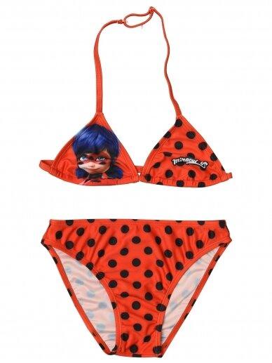 Dviejų dalių maudymosi kostiumėlis Miraculous Ladybug 1236D215