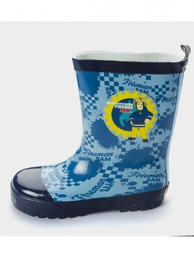 Fireman Sam vaikiški mėlyni guminiai batai 0489D86/88