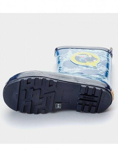 Fireman Sam vaikiški mėlyni guminiai batai 0489D86/88 4