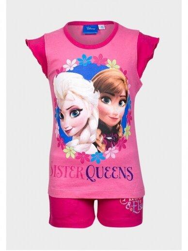 Frozen fuksijų spalvos pižama 0978D183
