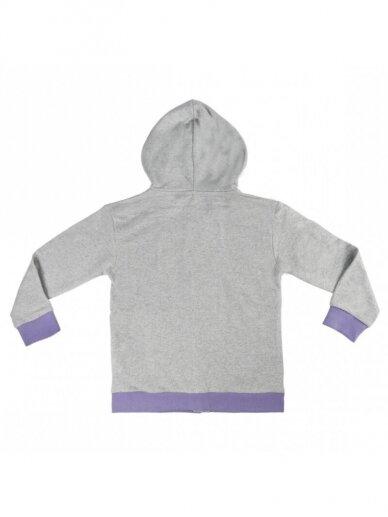 Frozen pilkas džemperis su gobtuvu 0918D174 2