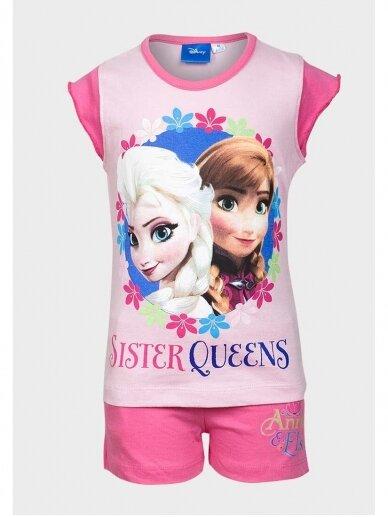 Frozen rožinės spalvos pižama 0979D183