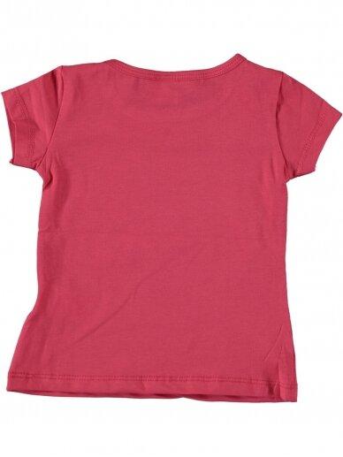 Fuksijų spalvos marškinėliai Undinėlė 1068D212 2