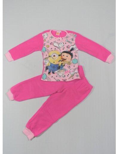 Fuksijų Spalvos Pižama Despicable Me Minions 0103D28