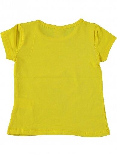Geltonos spalvos marškinėliai Undinėlė 1066D212 2
