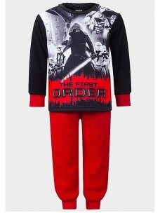Juoda raudona pižama Star Wars 0097D22