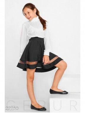 Juodas sijonas mergaitei 0221D042