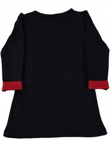Juoda suknelė Vienaragis 0184D41 2