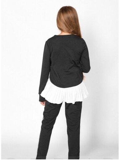 Juodas asimetriskas vaikiškas lasivalaikio kostiumėlis 0553D106 2