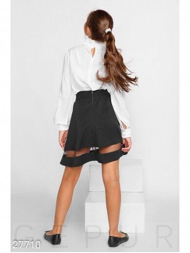 Juodas sijonas mergaitei 0221D042 3