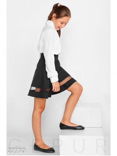 Juodas sijonas mergaitei 0221D042 4