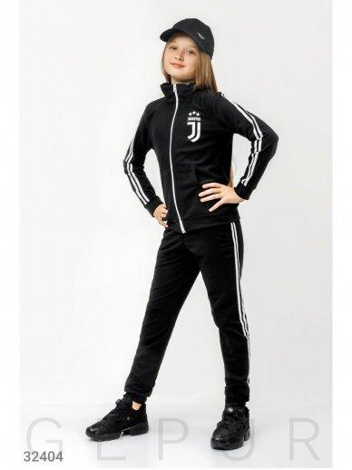 Juodas sportinis kostiumas Juventus 0759D147 2