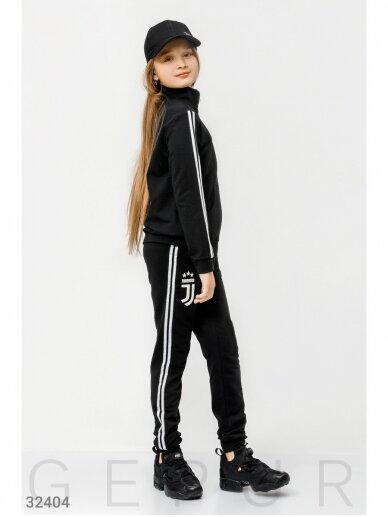 Juodas sportinis kostiumas Juventus 0759D147 3