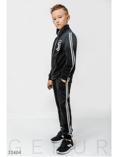 Juodas sportinis kostiumas Juventus 0759D147 5