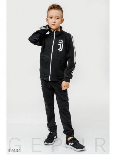 Juodas sportinis kostiumas Juventus 0759D147