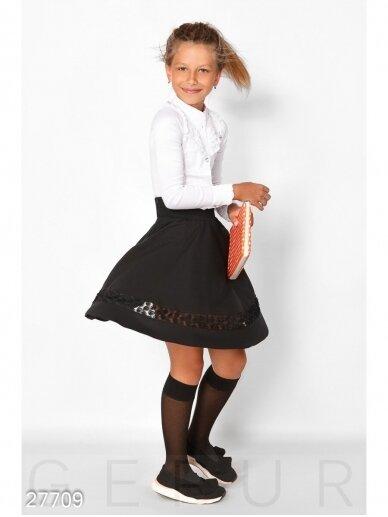 Juodas vaikiškas sijonas 0756D146