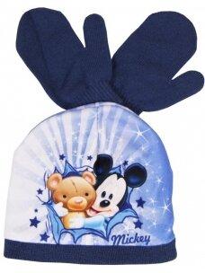 Kepurė ir pirštinės Peliukas Mikis 1043D206