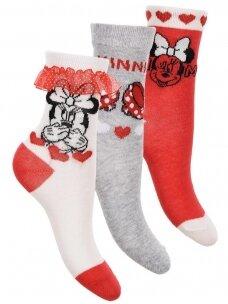 3 kojinių rinkinys MINNIE MOUSE 1166D239