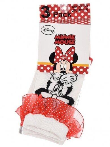 3 kojinių rinkinys MINNIE MOUSE 1166D239 2