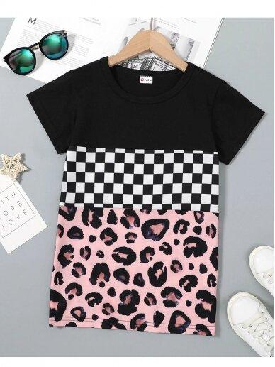 Laisvalaikio marškinėliai trumpomis rankovėmis 0538D103