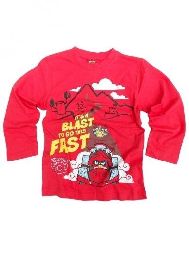 Marškinėliai ilgomis rankovėmis Angry Birds GO! 0920D174