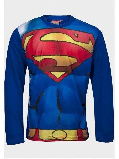 Marškinėliai Supermenas ilgomis rankovėmis 1035D193