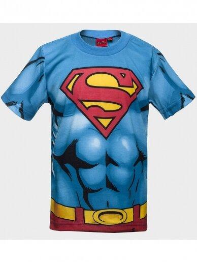 Marškinėliai Supermenas trumpomis rankovėmis 1034D193