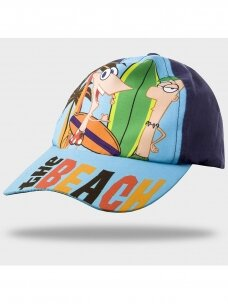 Mėlyna kepurė Phineas & Ferb 1090D200