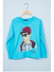 Mėlynas plonas džemperis Nukutavake ToonToy 0811D165