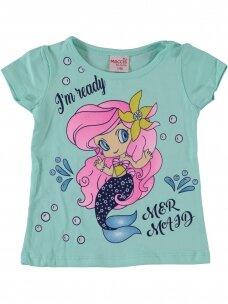 Mėtų spalvos marškinėliai Undinėlė 1069D212