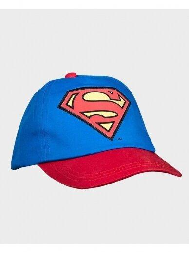 Mėlyna kepurė su raudonu snapeliu Supermenas 1104D201