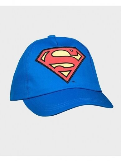 Mėlyna kepurė su snapeliu Supermenas 1103D201