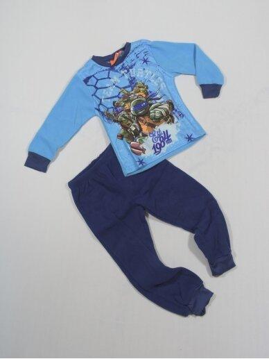 Mėlyna Pižama Teenage Mutant Ninja Turtles 0777D153 2