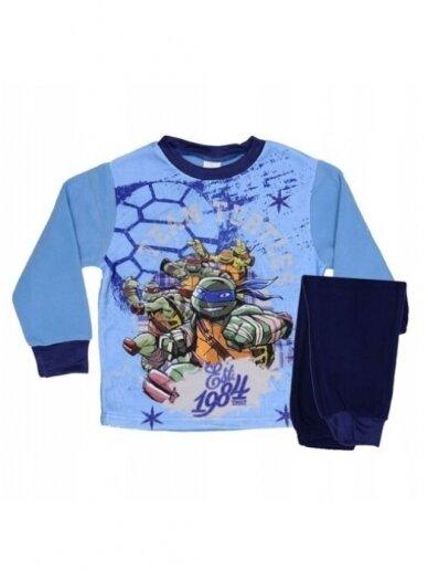 Mėlyna Pižama Teenage Mutant Ninja Turtles 0777D153