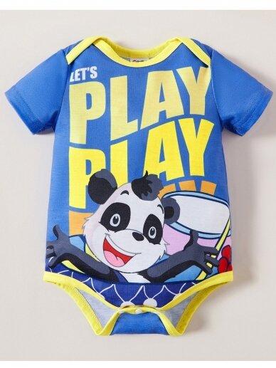 Mėlynas smėlinukas Panda 0749D144