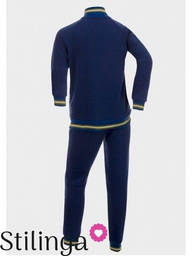 Mėlynas sportinis kostiumas Pakalikai 0530D104 2