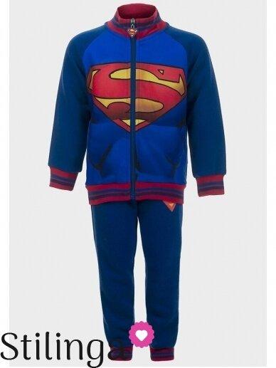 Mėlynas sportinis kostiumas Supermenas 0526D100
