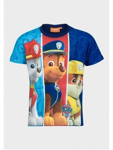 Mėlyni marškinėliai berniukui Paw Patrol 0999D186 3