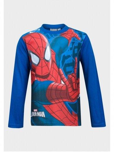 Mėlyni marškinėliai ilgomis rankovėmis Spiderman 1055D195