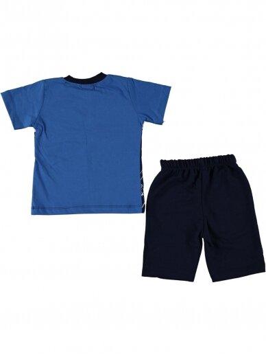 Mėlyni marškinėliai ir šortai Speed 1060D209 2